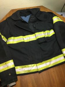 Ramwear Firefighter Jacket Coat Bunker Fire 40x31 Turnout Aramid Nomex Fr