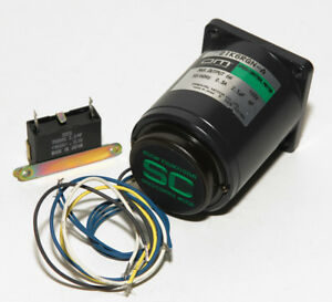 Vexta P2ik6rgn a Synchronous Speed Control Motor 6w With Capacitor