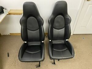 Porsche 997 Gt3 Alcantar Sport Seats Black Gt2 Turbo 996 911 Custom Painted