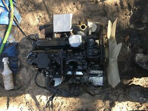 Perkins 103 07 Engine Good Used 3 Cylinder Diesel Complete