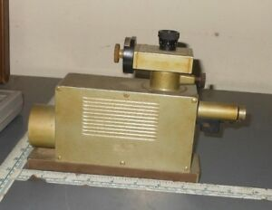 Wild Heerbrugg Autocollimating Surface Plane Tester Pg 369