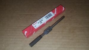 Starrett No 91 a T handle Tap Wrench 1 16 To 1 4 Capacity