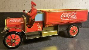 Coca-Cola 1930's Tin Delivery Truck #244 of 20 000