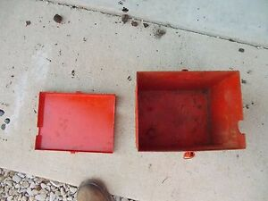 Allis Chalmers C Ca B Tractor Replacement Ac Battery Box Assembly W