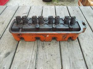 Allis Chalmers B C Tractor Engine Ac Motor Cylinder Head Valves Springs