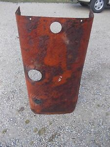 Allis Chalmers Wd Wd45 Wc Wf Tractor Original Engine Motor Hood Cover