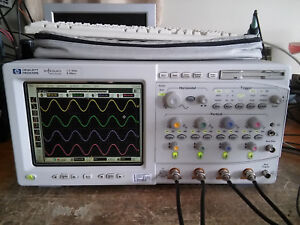Hp Agilent Keysight 54845a 1 5ghz 8gsa s Infiniium Digital Oscilloscope Dso