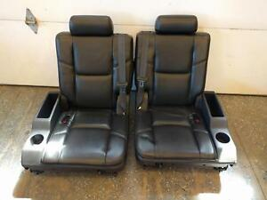 07 08 09 10 11 12 13 14 Escalade Tahoe Yukon Suburban 3rd Third Row Seats Rear