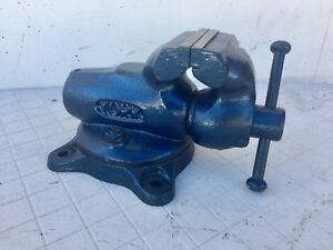 Cute York 60 Vise Swivel Base 2 3 8 60 Mm Jaws Machinist Not Wilton