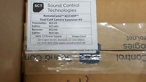 Sound Control Technologies Dual Cat Camera Extensions Remote Cam 2