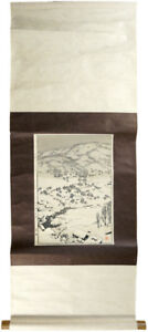 Yoshida Toshi Snow Country Ukiyo E Woodblock Print