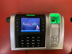 Fingertec Time Attendance Ta200 Plus Color Fingerprint Rfid Time Clock
