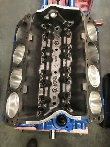 351w 357w Ford Roller Short Block Race Prep Holds Over 500hp Forged Pistons