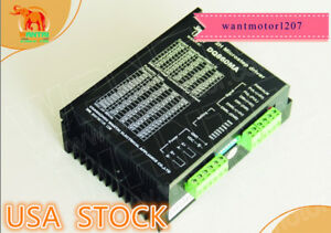 Usa Free 1pc Wantai Stepper Motor Driver Dq860ma 80v 7 8a 256micro For Nema34