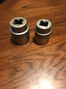 Snap on 3 4 Drive 1 7 16 Ldh462 1 1 4 Ldh402 Made In Usa 12 Point