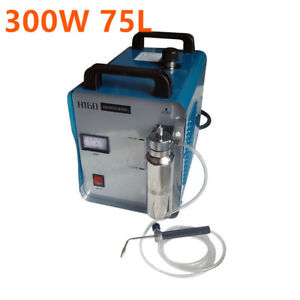 300w 75l Water Welder Portable Acrylic Polishing Machine Hho Flame Generator