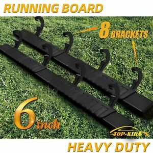 For 2019 2020 Silverado sierra Crew Cab 6 Running Board Side Step Nerf Bar H