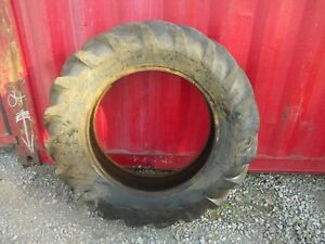 Goodyear 12 X 28 75 Tread Vintage Super Sure Grip Long Bar Tread Tractor Tire