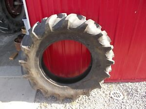 Firestone 12 4 X 24 Traction Field Road 97 Tread Rear Tractor Tire F206 24