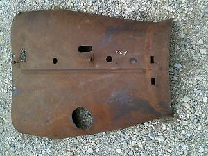 Farmall F20 Tractor Engine Motor Hood Cover Panel