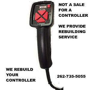 Rebuild Dont Repair Service Fish Stik Fisher Western Snow Plow 6 Pin Controller