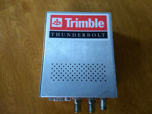 Trimble Thunderbolt Gps Receiver Timing Frequency Reference 10 Mhz W Powerconn