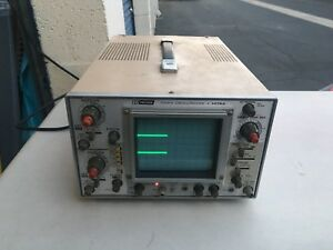 Bk Precision Dual Channel 10mhz Oscilloscope Model 1476a Works