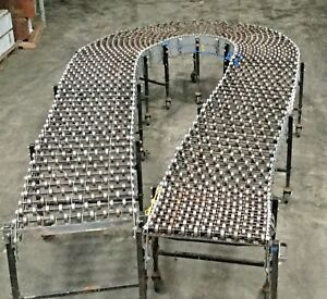 Best Flex Portable 14 To 40 Expandable Skate Wheel Roller Conveyor Lot 1