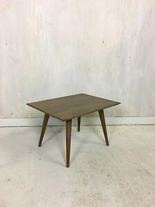 Paul Mccobb Maple Side Table In Tobacco Accent Table End Table