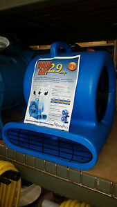 Air Mover Omnidry 2 9 Amp Stackable 1 3 Horse Power Restoration Ac25a Quantity