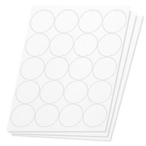 Round Circle Dot 2 Stickers Labels For Laser Inkjet Printers 20000 Labels