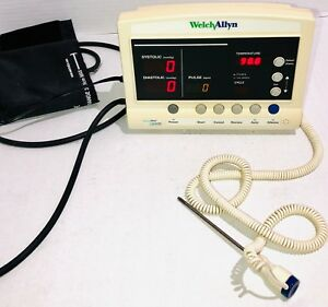 Welch Allyn Protocol Vital Signs Patient Monitor Series 52000 Parts repair