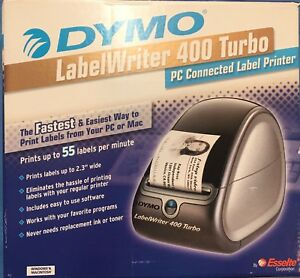 Dymo Labelwriter 400 Turbo Label Printer Power Adapter Complete In Box