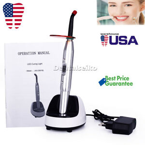 Dental Woodpecker Style Led Wireless Curing Light Jas 2001b 2700mw cm 100 240v