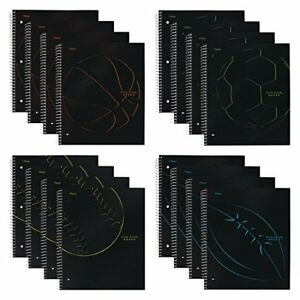 Five Star Spiral Notebooks 1 Subject College Ruled Paper 100 Sheets 11 X 12