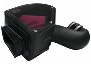 S b 75 5090 Cold Air Intake System Kit For 94 02 Dodge Ram Cummins Diesel 5 9l