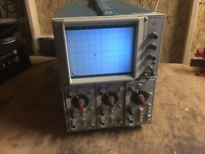 Tektronix 5103n Oscilloscope W 2 5a20n Differential Amp 5b10n Time Base Amp