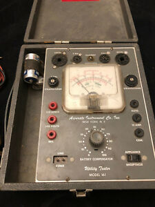 Accurate Instrument Utility Tester Model 161 Powers On