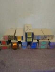Large Color Coded Garment Tags 1 1 2 X 2 lot Of 15 000 Less Than 2 Cents Each