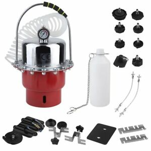 Pneumatic Air Pressure Bleeder Tool Set Kit Professional Garage Brake Us Ek