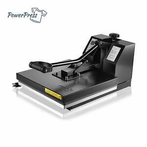 Powerpress 15 x15 Industria Digital Sublimation T shirt Heat Press Machine