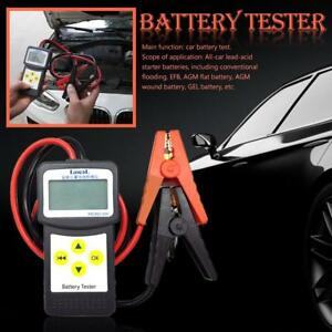 12v Digital Automotive Car Battery Tester Analyzer M Cranking Alternator Tester