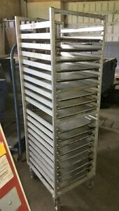 Mobile Sheet Pan Rack Used Commercial Speed Rack With Baking Sheets