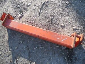 Ih International Case Plow Three Point Hitch Bar 3pt 3 Tractor