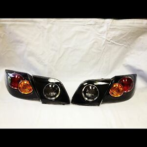 For Driver passenger Non led Tail Light Pair Fit 2004 2006 Mazda 3 Hatchback