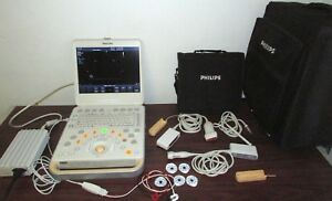Philips Cx50 Portable Ultrasound Machine Probes L12 3 S5 1 D2cwc Transducer
