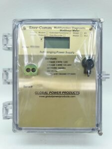 Global Power Products Ener comm Ecd 3200 Multifunction Diagnostic Watthour Meter