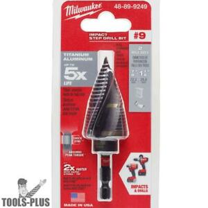 Milwaukee 48 89 9249 Shockwave Impact Duty Step Bit 9 7 8 1 1 8 New
