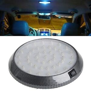 12v 46led Car Vehicle Interior Dome Lights Indoor Roof Ceiling Lamps Super White