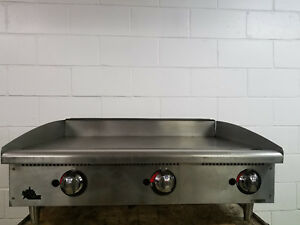 Star Max 36 Flat Table Top Grill Tested Natural Gas No Tag